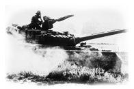 attēls ar tanku